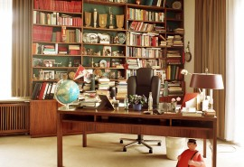 Max Schmelings Arbeitszimmer